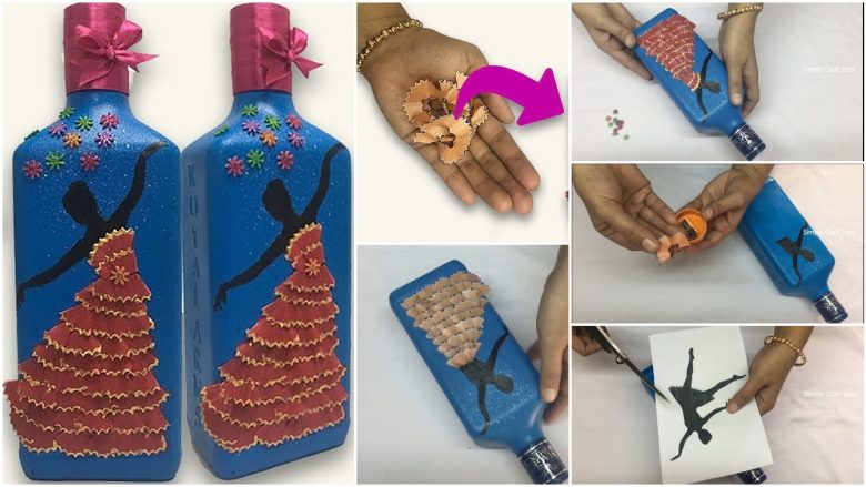 Bottle art ideas for beginners