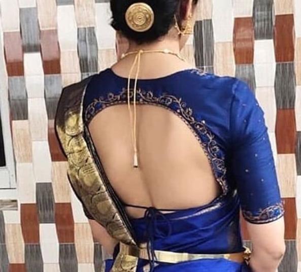 Amazing blouse design