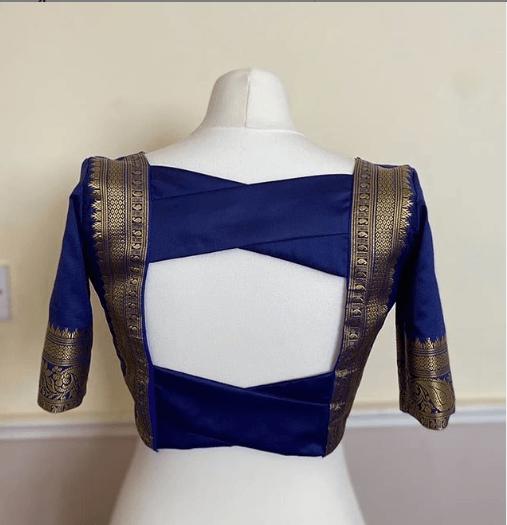 Classy blouse design