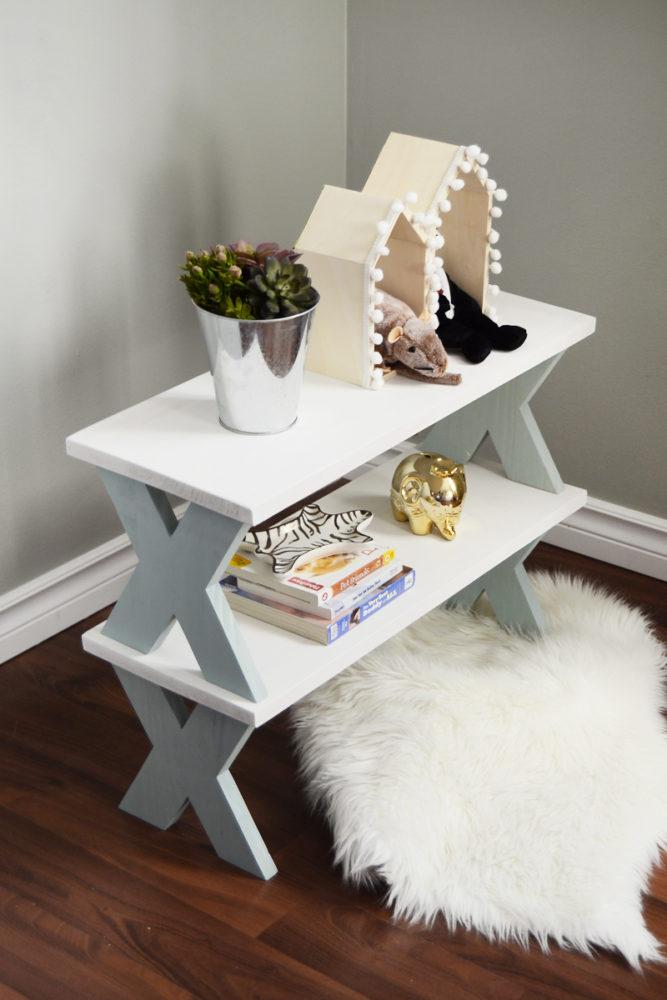 DIY Stackable Shelves