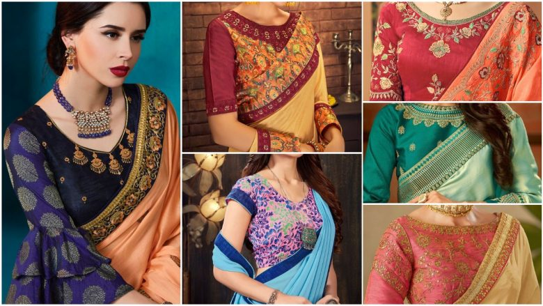 Latest blouse designs for party wear