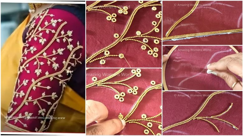 blouse sleeves designs