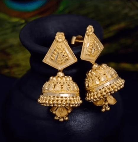 Daily wear earrings design