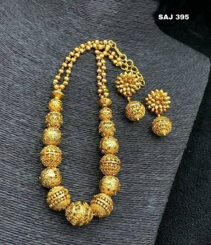 Gold Necklace Designs