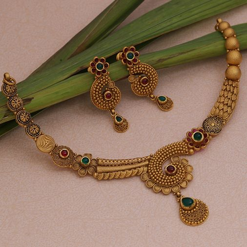 Gold Antique Necklace