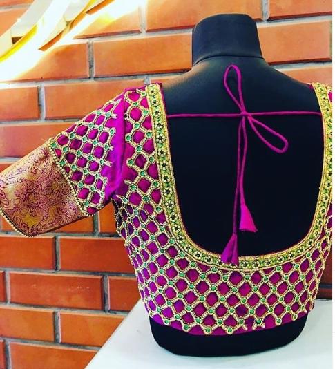 Fabulous blouse design