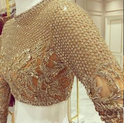 Heavy Designer Saree Blouse