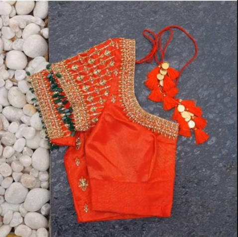 New Sari Blouse Designs