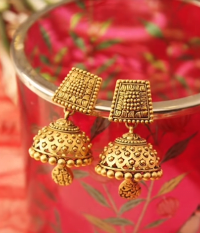 Daily wear earrings design