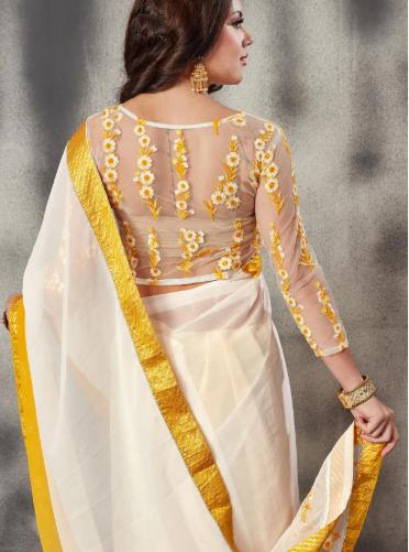 Fascinated blouse design