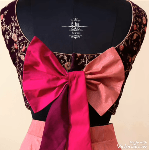 Fashionable Blouse Neck