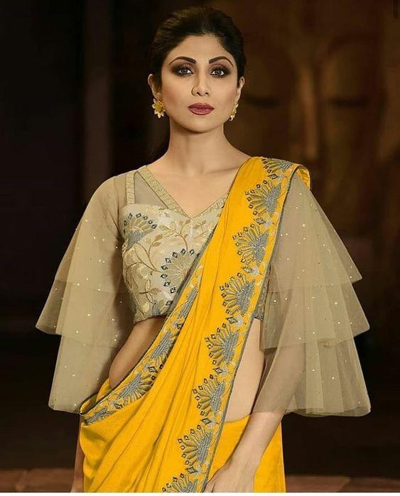 Net blouse designs