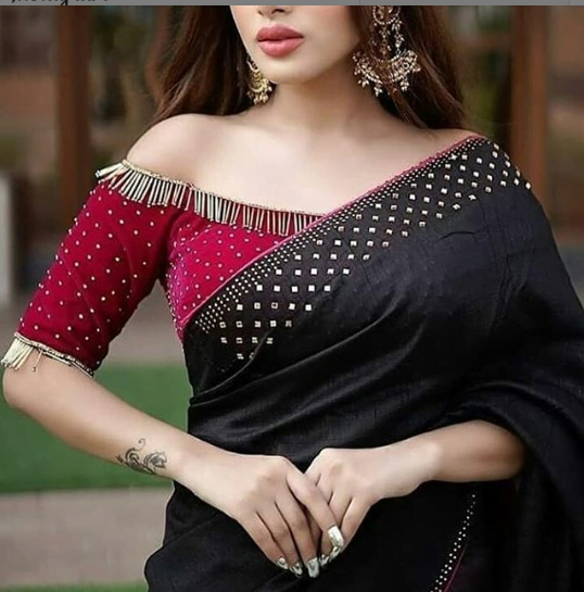 Stunning blouse design