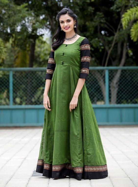 Convert silk saree