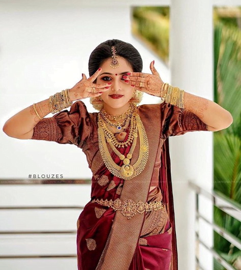 pattu saree blouse