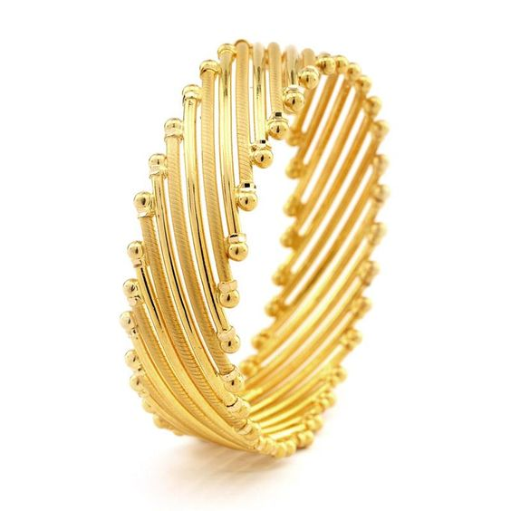Latest golden bangle design