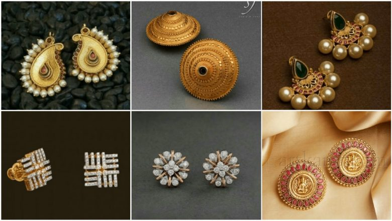 Outstanding gold studs