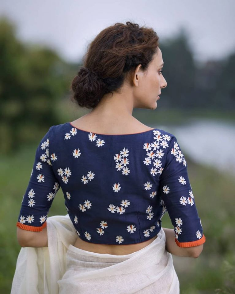 blouse back neck designs 2