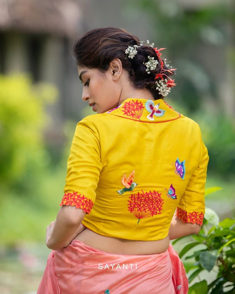 blouse back neck designs 3
