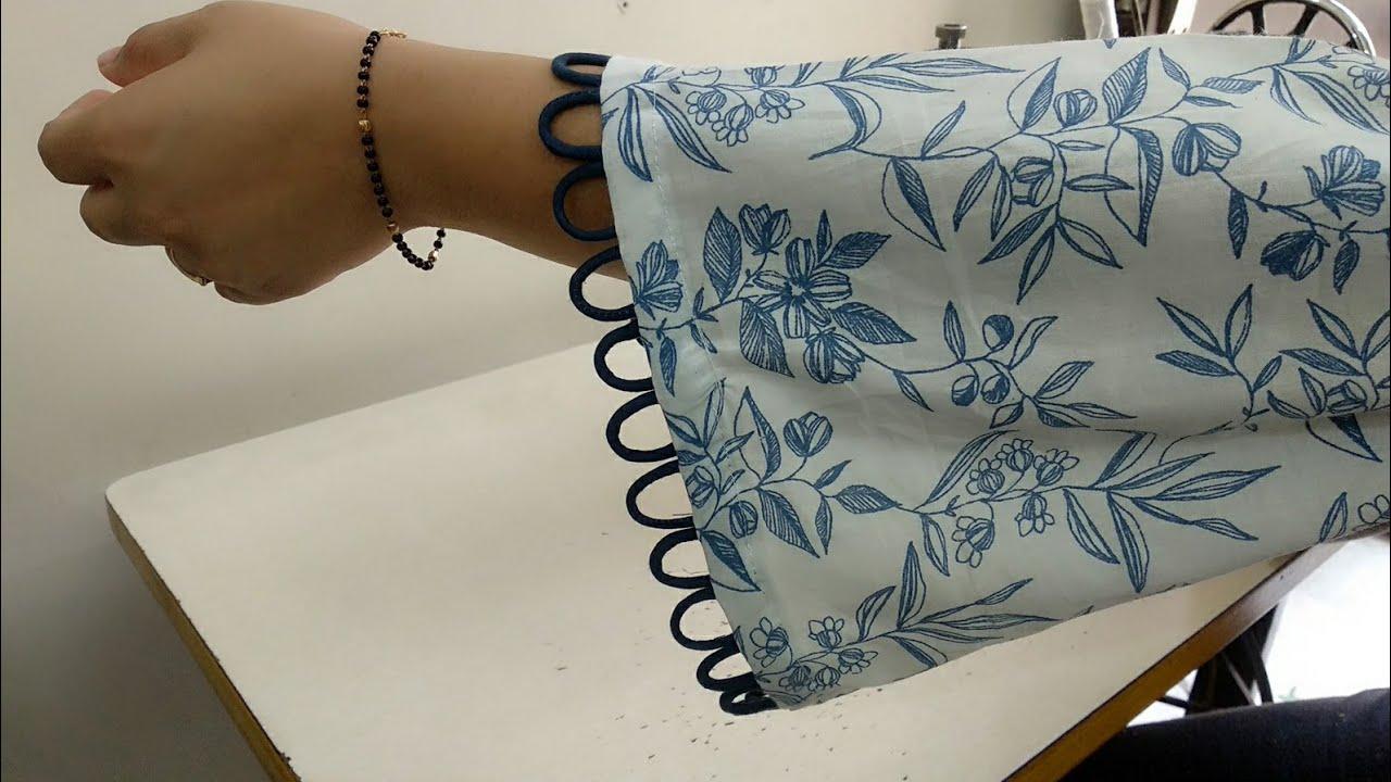 Beautiful Sleeves Design with Dori Loops