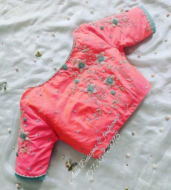 trendy designer blouses 4 1