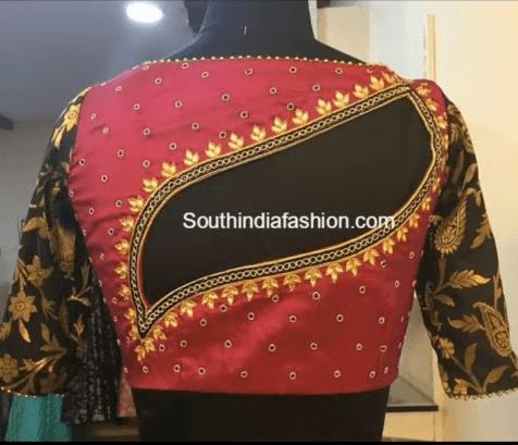 Stunning blouse back