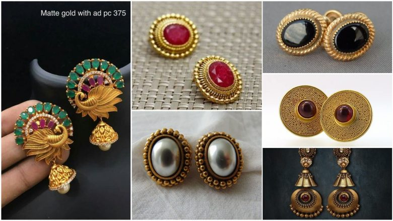 attractive designs of earrings