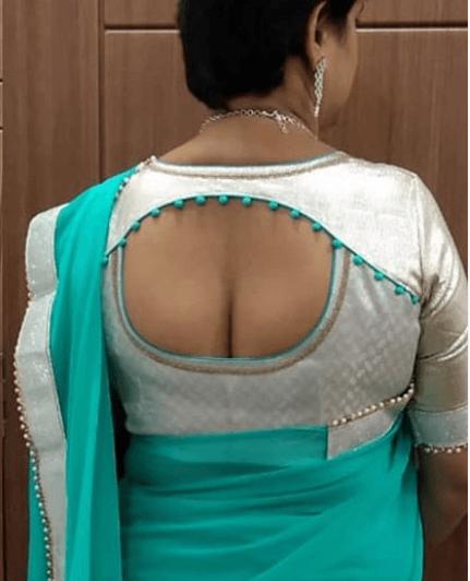 blouse back neck pattern