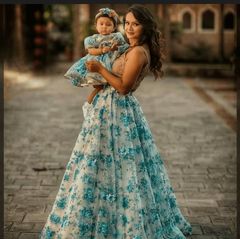 Matching dress
