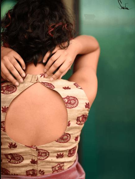 back neck design