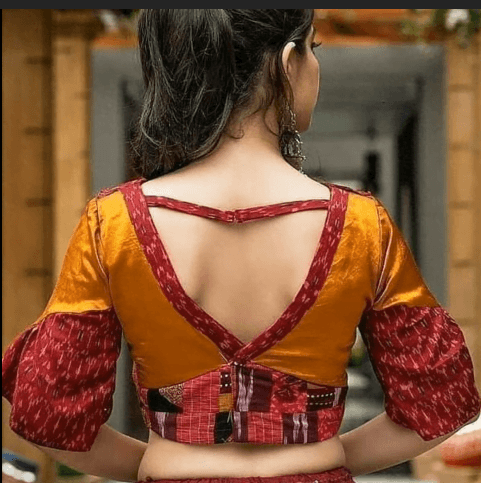 Stunning blouse back