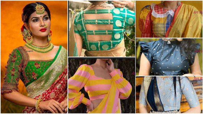 Latest designer blouse collection