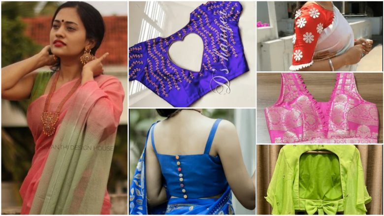 Saree blouse patterns for women