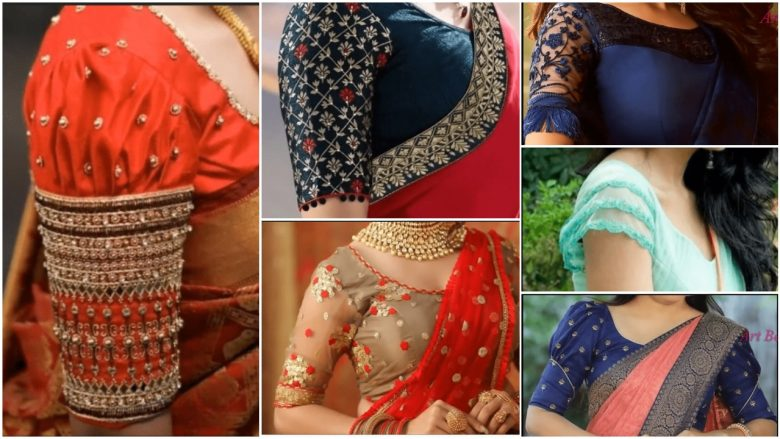 sleeve designs for blouse