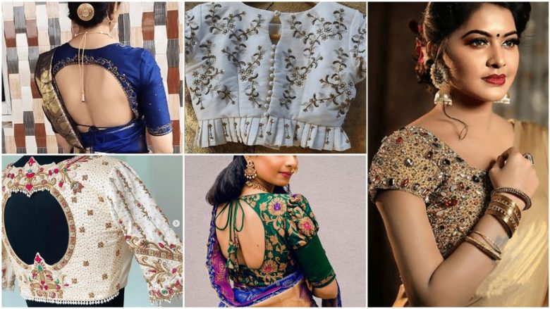 Interesting blouse designs ideas in 2021