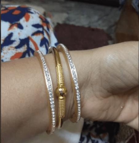Gold Bangles Designs