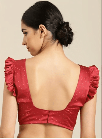 FRILL sleeve blouse