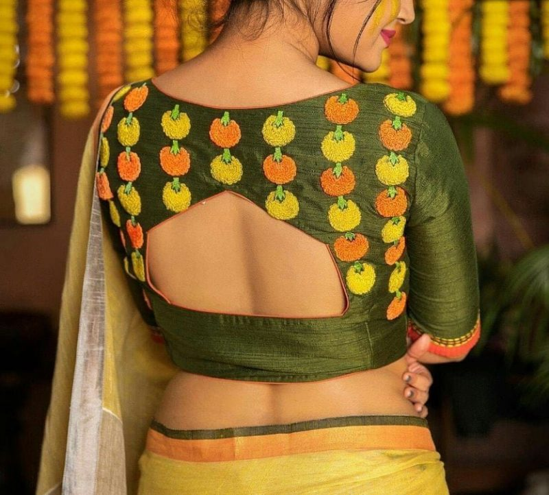 Gorgeous blouse design