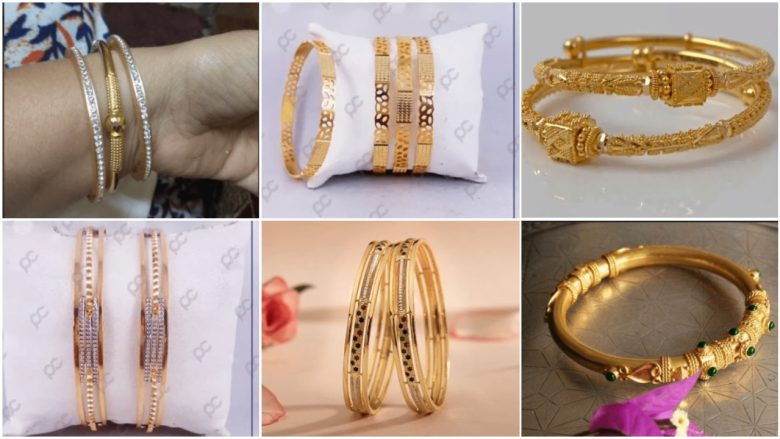 Exclusive gold bangles designs