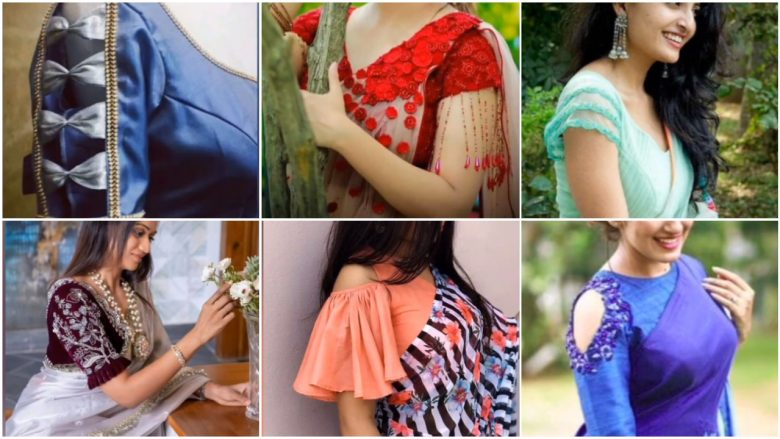 Blouse sleeves design ideas in 2021