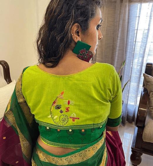 blouse back neck drsign