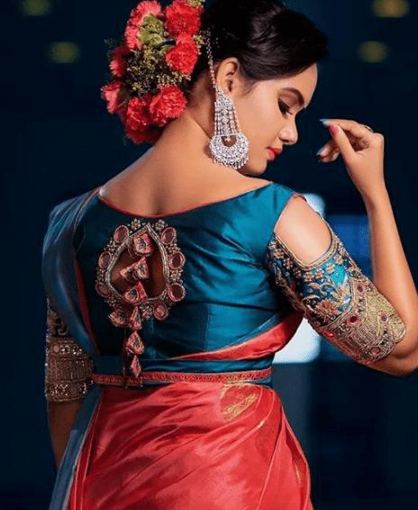 Trendy designer blouse