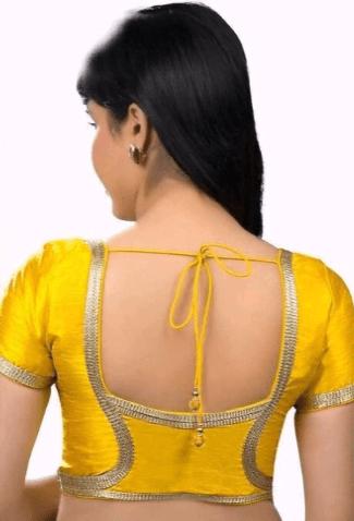 Beautiful blouse back design