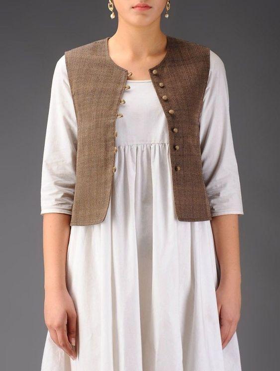 kurti jacket design