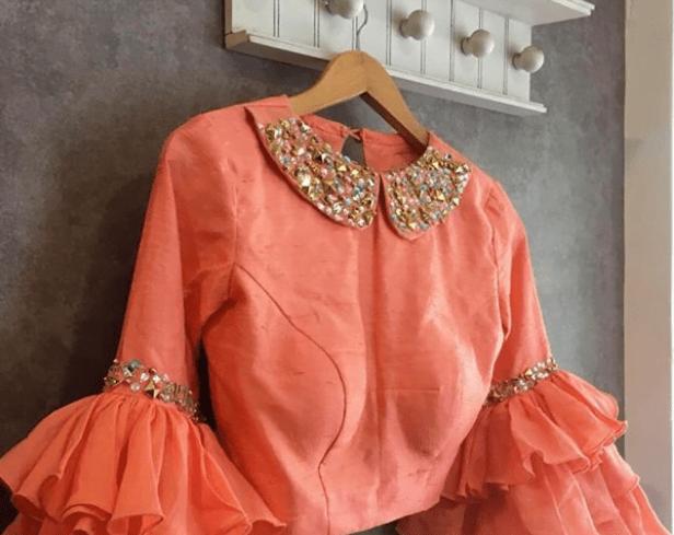 Fascinate blouse design