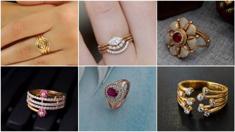 gold rings for womens