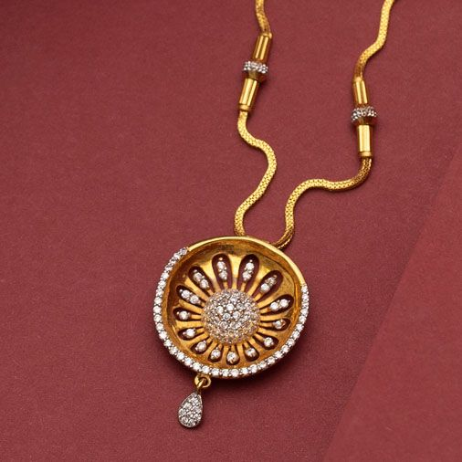 Simple and Light Weight Gold Chain Designs