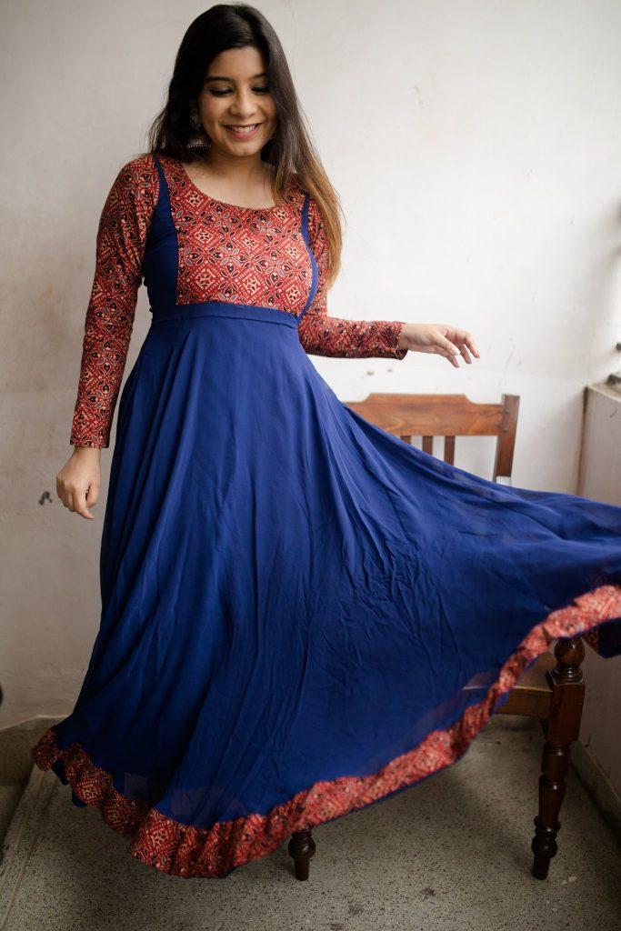 Ethinic long dress