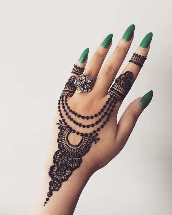 Jewelry Mehndi Designs