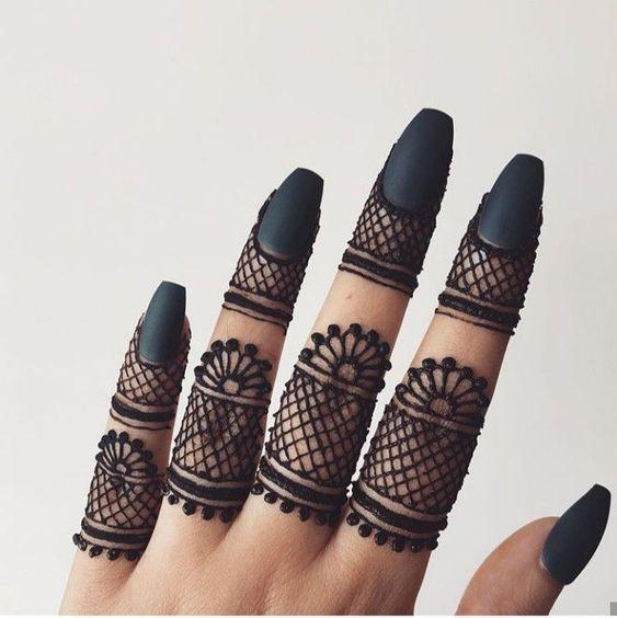 Best Finger Mehndi Designs